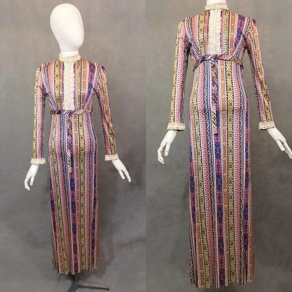 Vintage Maxi Dress | 1960's Maxi Dress by Clobber/