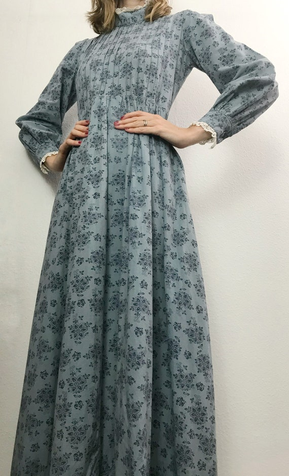 Vintage Dress | 1970's Laura Ashley Made In Wales