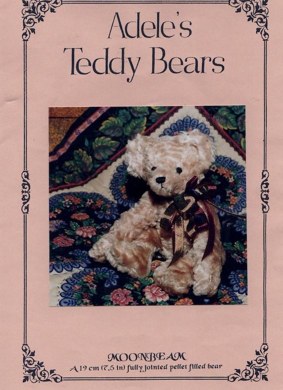 Serendipity Kollektion Nähen Muster Adele Moonbeam Teddybär 19   Etsy