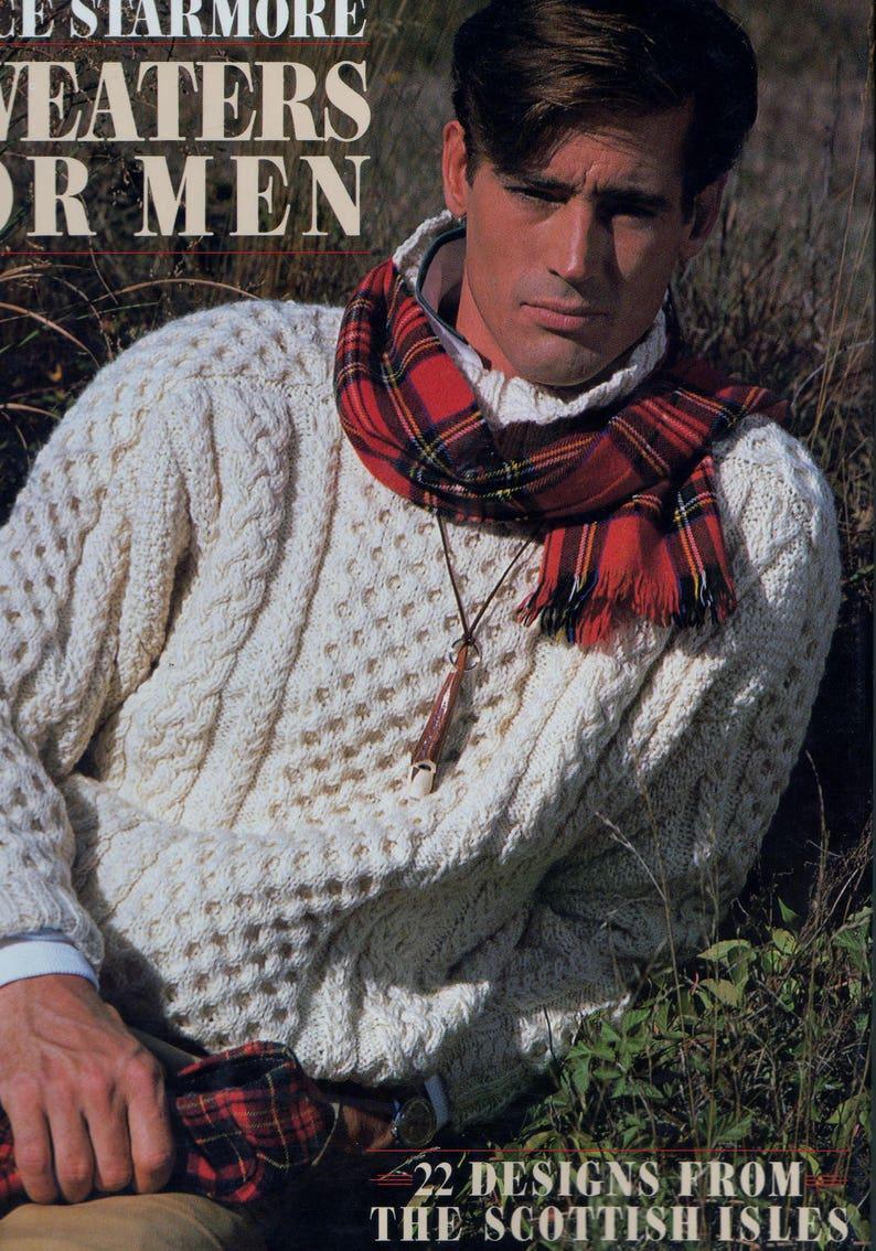 Alice Starmore Sweaters For Men Aran Sweater 22 Designs Etsy