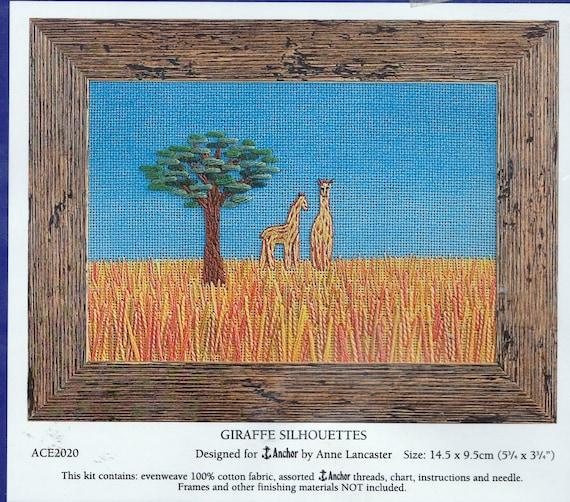 Dimensions Retro Tree Crewel Embroidery Kit 9.5 x 9.5