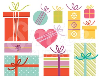 Various Gifts Clipart Set for Commercial Use - 0026