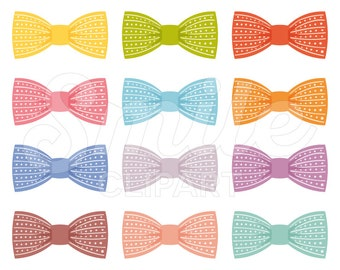 Bow Tie Clipart Set for Commercial Use - 0019
