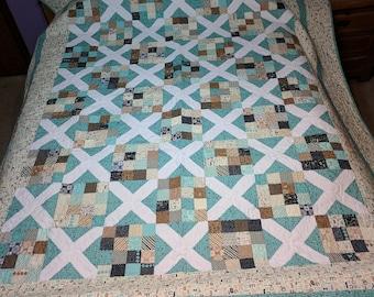 Quilt Pattern ~ CARAMEL LATTE ~ by Cathy Wierzbicki