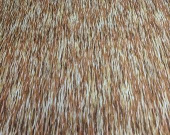 North American Wildlife-Earth Cotton Fabric from Robert Kaufman Fabrics