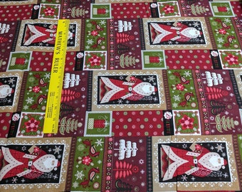 Christmas Patchwork Cotton Fabric from JoAnn Fabrics
