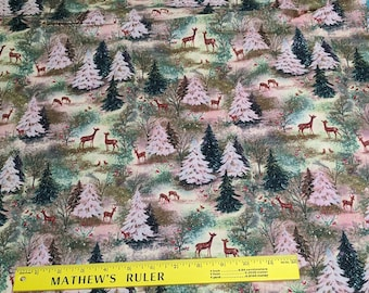Vintage Forest Cotton Fabric from Springs Creatives