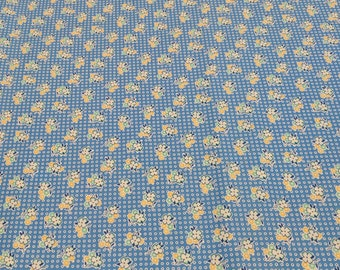 Penny's Dollhouse-Lake Flower Cotton Fabric Designed by Darlene Zimmerman for Robert Kaufman Fabrics