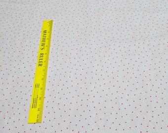 Penny's Dollhouse-Red Polka Dot Cotton Fabric (15097)Designed by Darlene Zimmerman for Robert Kaufman Fabrics