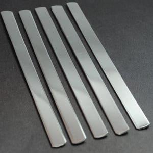 Variety Pack of 14 Gauge 1100 Food Safe Aluminum Stamping Blanks- Five of Each- 14/' 12/' Bracelet Blanks /& 14/' 38/' Ring Blanks 38/'