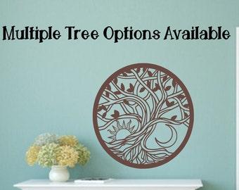 Tree of life wall decal, tree of life decor, celtic wall decal, tree of life decal, tree of life wall art