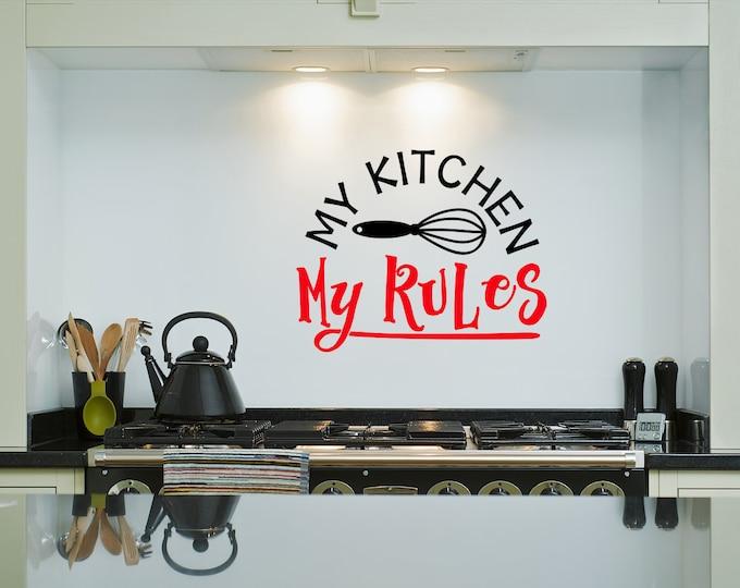 Kitchen Decals - JadeDecals