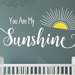 be the sunshine decal Choose kindness classroom decal- When you can/'t find the sunshine quote Sunshine wall decal