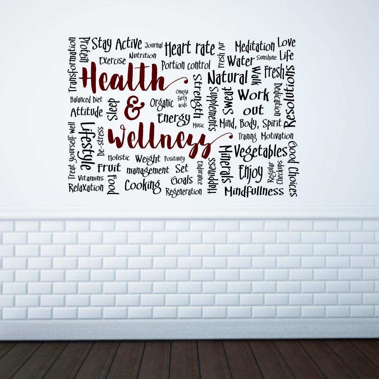 Health and wellness decor health and beauty health and fitness