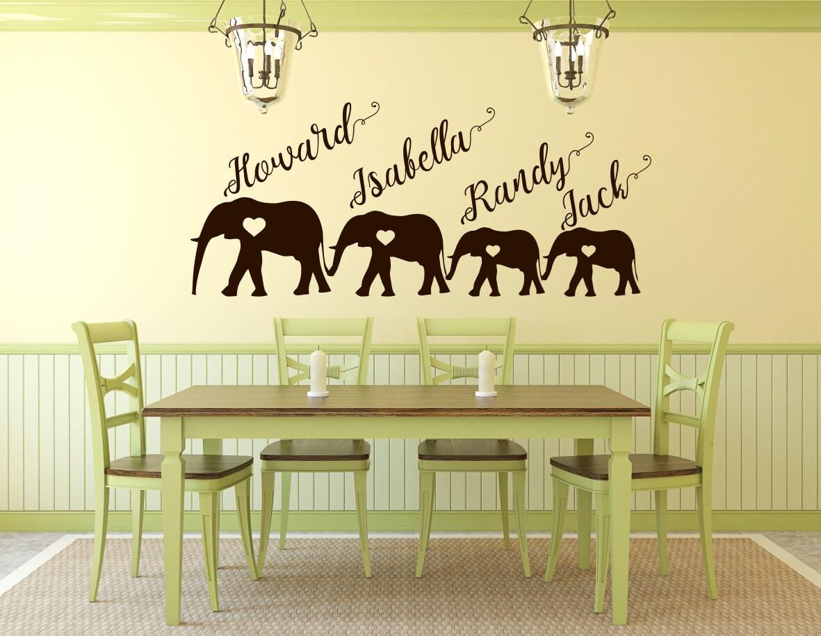 Elephant family art, elephant family, family of elephants, family ...