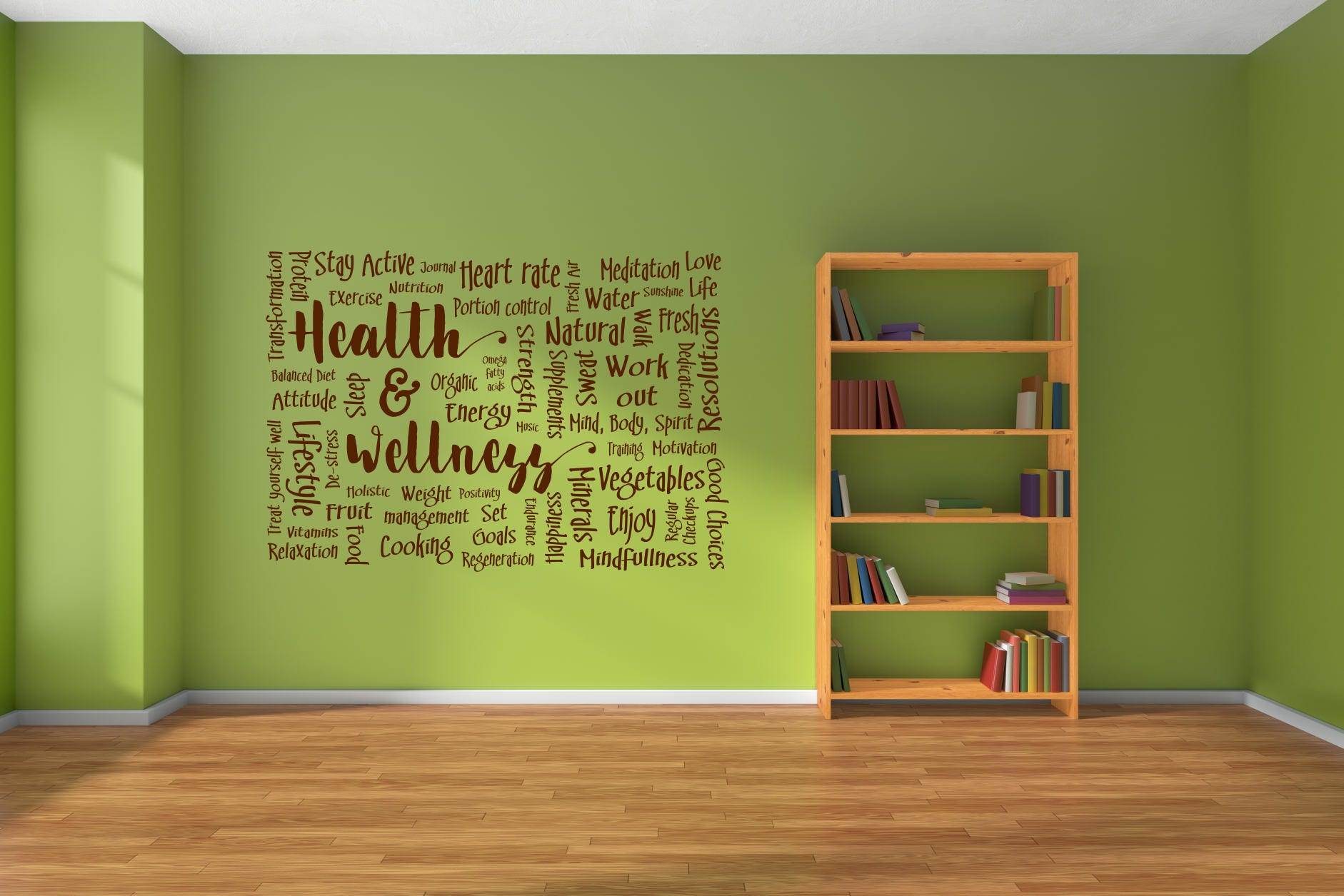 Health and wellness decor, health and beauty, health and fitness ...