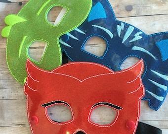 Bedtime Hero Masks. Masks and Bracelet sets.. Halloween Mask for dress up and pretend play