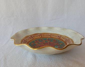 German Ceramic Decorative Bowl
