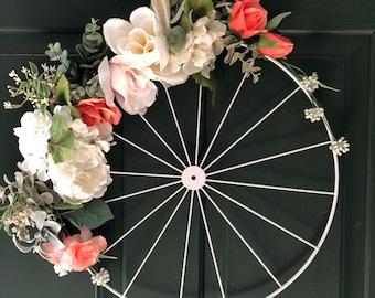 Minimalist Summer Wheel Wreath