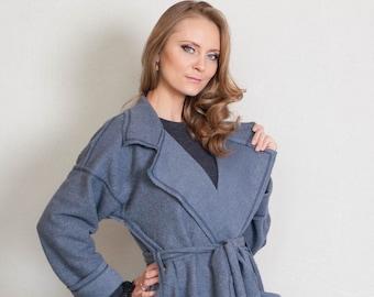 Damen Mantel aus Wolle, lange saisonale Mantel. übergroße. stilvoll. Damen  Mantel. Langen Mantel, Plus Größe Kleidung, Mantel, Decke Mantel, Womens  Mantel 021d5adebf