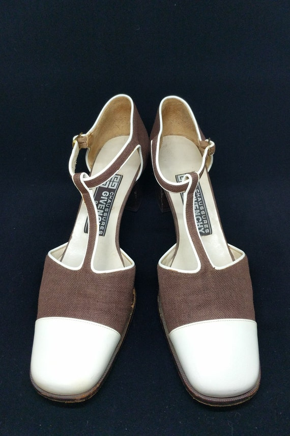 1960s Vintage Givenchy Paris Shoes, Mary Jane Styl