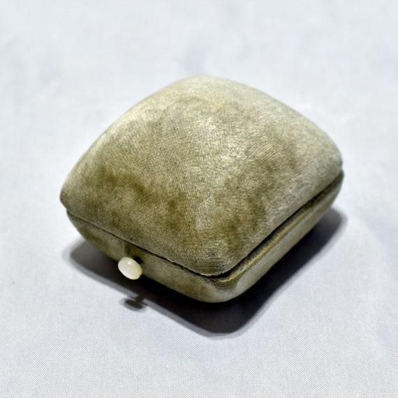 Vintage Presentation Ring Box; Art Deco Ring Box