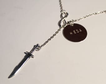 Commander/Heda Lexa - The 100 Charm Necklace - DOUBLE SIDED