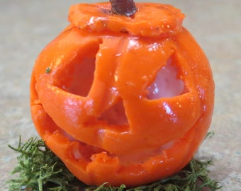 Halloween Dollhouse miniature  pumpkin