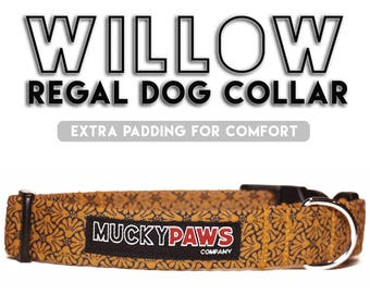 Dog Collar - Willow Regal - Various Sizes & Matching Products Available!