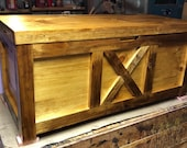 Large Cedar Chest, Hope Chest, Christmas Gift, Blanket Chest with Tray, Wedding Gift