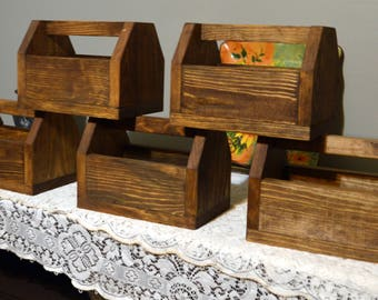Set Of 5 Centerpieces Unfinished Wood Centerpieces Wedding Etsy