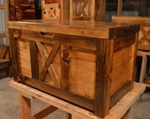 Hope Chest, Cedar Chest, Graduation Gift, Dowry Chest, Rustic Chest