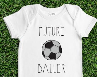 9191d8673 Soccer Baby Bodysuit - Future Baller - Sports Baby