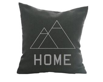 """HOME - Throw Pillow, Metallics, Decorative Pillow, Accent Pillow - 18"""" X 18"""""""