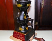 Antique Enterprise Coffee Grinder No. 1 small cast iron 1875