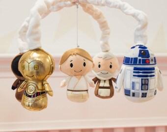 Star Wars Tatooine Mobile - Star Wars Mobile - Baby Crib Mobile - Star Wars Nursery - Luke - R2-D2 - Jawa - Obi-Wan Kenobi - C-3PO -