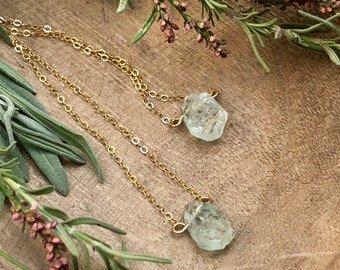 Raw Gemstone Necklaces