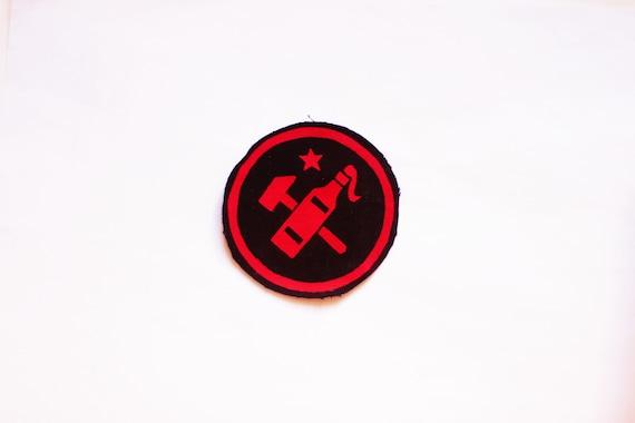 Vest Patch Communist Patch Jacket Patch Logo Design Anarchist Patch Political Patch Skinhead Patch Punk Rock Patch Punk Accessories