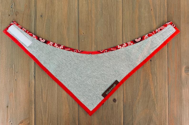 3 sizes BIBDANA\u00ae baby shower gift Bandana print Red Special Need Babies Bibs for Pets Holiday gift,