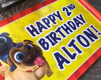 Puppy Dog Pals Vinyl Banner