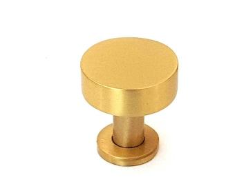 Cabinet Knobs, Brass knobs, Drawer Knobs, Kitchen Knobs