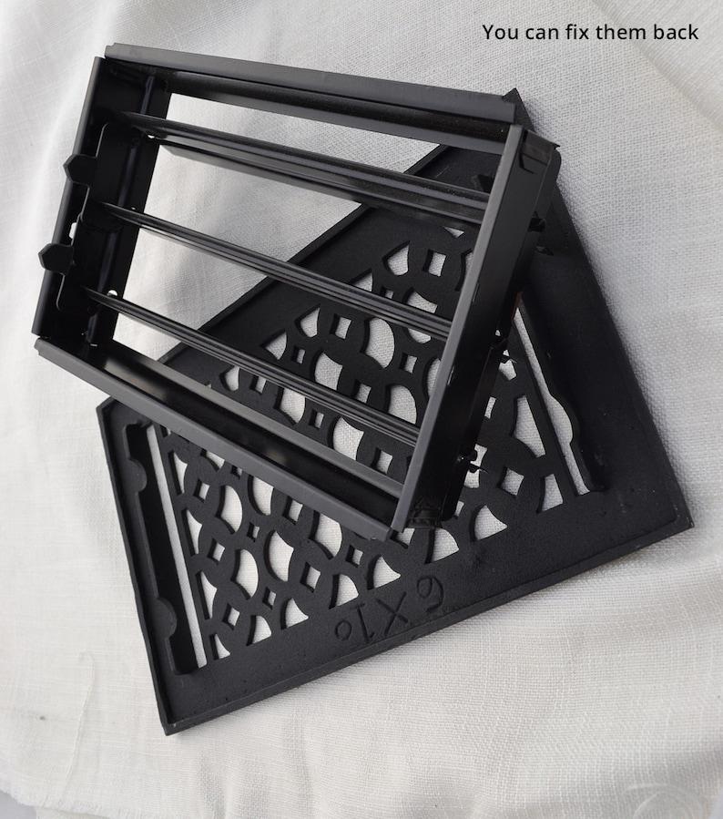 Cast Aluminum Floor Air Duct Cover 3