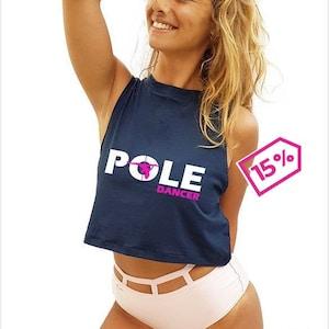 Sparkling top for Pole dance  Fitness  Swimwear  Pole sport  Activewear  Polewear  Exotic  pole dancing top  pole wear top