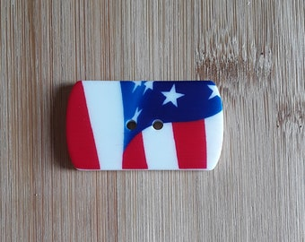 Red, White and Blue Needle Minder
