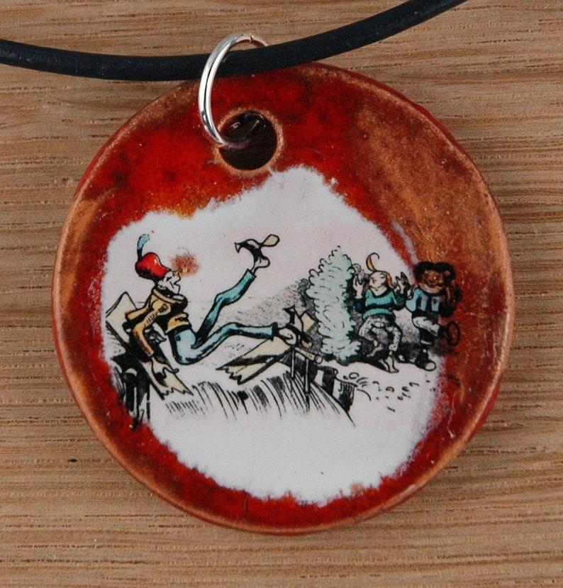 pendant Max /& Moritz; Wilhelm Busch bad boys jewelry necklace best gift souvenir children ladies fashion jewellery Orginal handicraft
