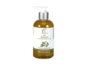 Unscented Olive- Coconut Body Wash