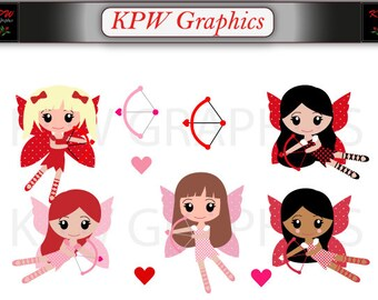 Cupid Clip Art Etsy