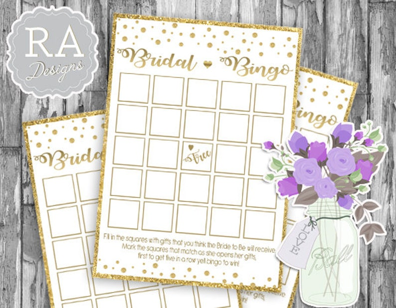 photo about Printable Bridal Bingo called Bridal Bingo Video game, Bingo Playing cards Printable, Bridal Shower Video games, Marriage ceremony Shower, Quick Obtain, Gold Confetti, Bachelorette, glitter, print