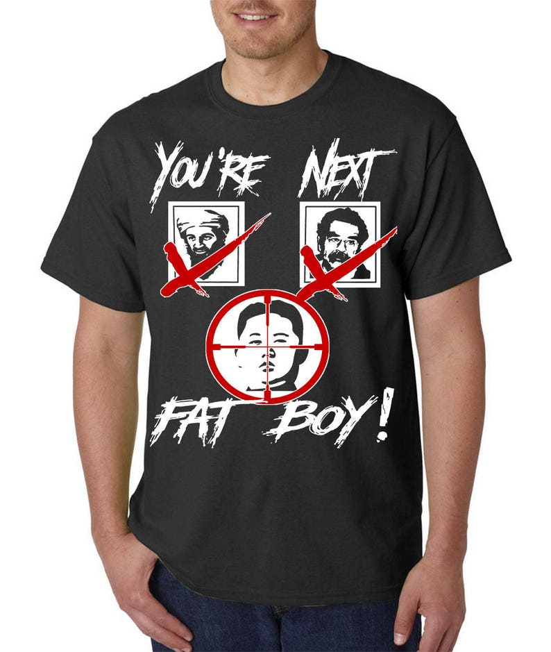 d677ae0e9 You're Next Kim Jong Un T-Shirt Korean War President | Etsy