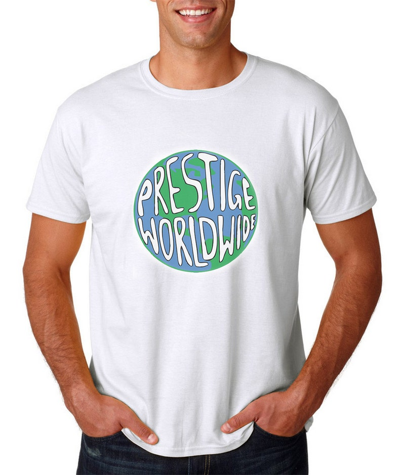 02eaf0d0 Prestige Worldwide T-Shirt White Step Brothers Boats And | Etsy